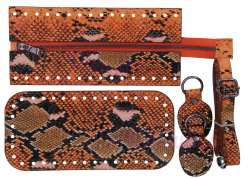 7. Κιτ τσάντας Elegant 13ANP - 10 - Μαύρα μεταλλικά