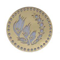 Πλαϊνό στρόγγυλος καθρέφτης DPX - Χρυσό