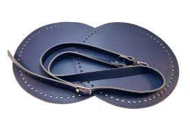 Σετ στρόγγυλη τσάντα 1 MS12 - Σκούρο μπλε