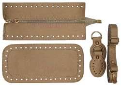 7. Κιτ τσάντας Elegant 8DOG1 - Χρυσό - Χρυσά μεταλλικά