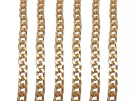 Αλυσίδα Thick 1,20m 1 - Χρυσό