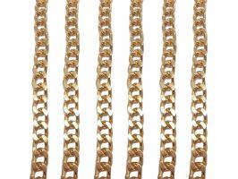 Αλυσίδα Thick 1,30m 1 - Χρυσό