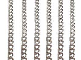 Αλυσίδα Thick 1,30m 3 - Ασημί