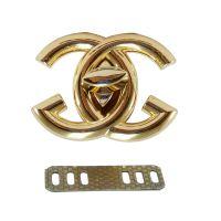 1. Κούμπωμα τύπου Chanel