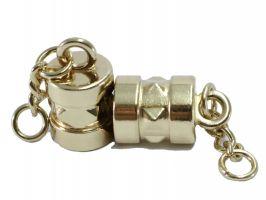 Καμπανάκια ακροδέκτες με βίδες 1 - Χρυσό (ζευγάρι)