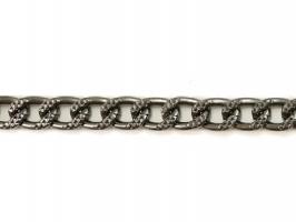 Αλυσίδα Stella Σφυρήλατη 1,20m 2 - Γραφίτης