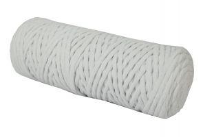Cotton Twist Macrame Slim 3mm 3 - White