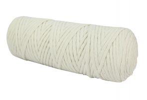 Cotton Twist Macrame Slim 3mm 4 - Cream