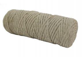 Cotton Twist Macrame Slim 3mm 5 - Beige
