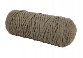 Cotton Twist Macrame Slim 3mm 6 - Dark Vizon