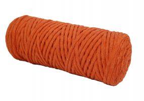 Cotton Twist Macrame Slim 3mm 8 - Orange