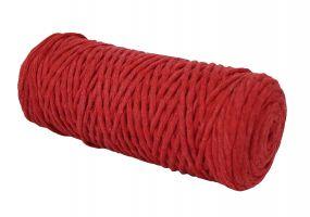 Cotton Twist Macrame Slim 3mm 10 - Red