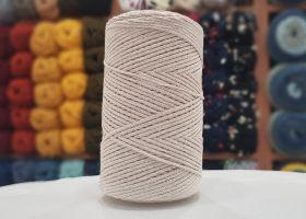 Cotton Macrame Slim 503 - Dark Cream