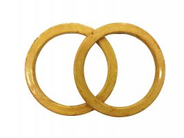 Διάφορα χερούλια (Ζευγάρι) 24KP - Gold Honey (12,5 cm)