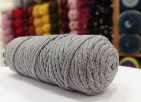 Cotton Twist Macrame 5mm 17 - Dark Grey