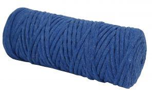 Cotton Twist Macrame Slim 3mm 18 - Saks blue