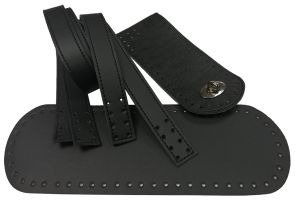 Κιτ τσάντας Pollen 25 cm (Ελληνικό Προϊόν) 2 - Μαύρο