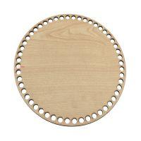 Ξύλινοι πάτοι (M) 1xk4 - Στρόγγυλο σφένδαμου (24,5 cm)