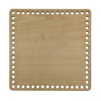 Ξύλινοι πάτοι (M) 1xk6 - Τετράγωνο σφένδαμου (24,5x24,5 cm)