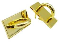 Καμάρα μεταλλική kmrx1 - 20 x 35 mm Σκούρο χρυσό (τεμάχιο)