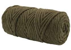 Cotton Twist Macrame 5mm 24 - Khaki