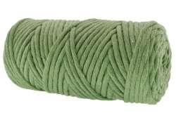 Cotton Twist Macrame Slim 3mm 25 - Crocodile Green