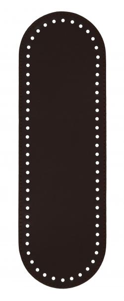 Πάτος Οβάλ (32 x 10cm) 00013K - Σκούρο καφέ