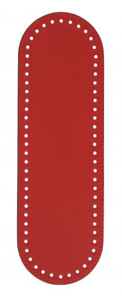 Πάτος Οβάλ (32 x 10cm) 00015K - Κόκκινο
