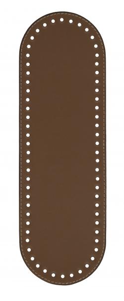 Πάτος Οβάλ (32 x 10cm) 00016K - Καφέ