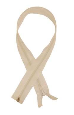 Φερμουάρ απλό μεταλλικό 50 cm 04 - Άσπρο