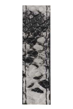 Λουριά σακιδίου πλάτης 020AP - White Black (Μαύρα μεταλλικά)