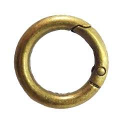 Κρίκος με μηχανισμό 3,5 cm 4 - Μπρονζέ