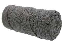 Cotton Twist Macrame Slim 3mm 42 - Coal Grey