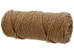 Cotton Twist Macrame 5mm 56 - Camel