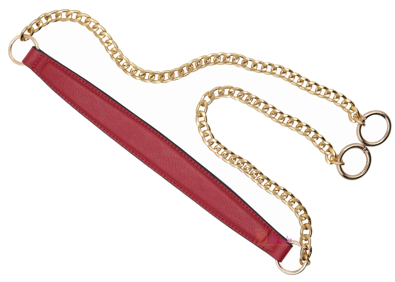 Λουράκι ώμου με χρυσή αλυσίδα (120cm)
