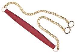 Λουράκι ώμου με χρυσή αλυσίδα (120cm) 100A - Red