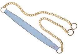 Λουράκι ώμου με χρυσή αλυσίδα (120cm) 500A - Light Blue