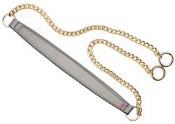 Λουράκι ώμου με χρυσή αλυσίδα (120cm) 600A - Silver