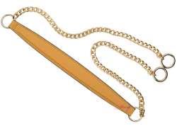 Λουράκι ώμου με χρυσή αλυσίδα (120cm) 1300A - Mustard