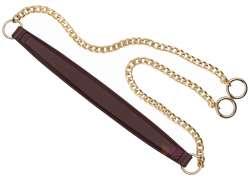 Λουράκι ώμου με χρυσή αλυσίδα (120cm) 1400A - Bordeuax