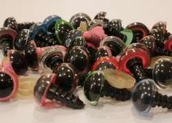 Ματάκια για Amigurumi 12-15 mm