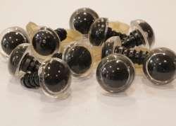 Ματάκια για Amigurumi 12-15 mm 1-12mm - Transparant (Ζευγάρι)