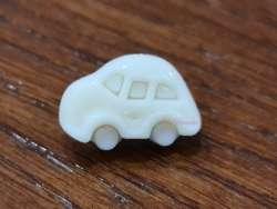 Κουμπιά αυτοκινητάκια 2 - Cream