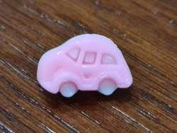 Κουμπιά αυτοκινητάκια 6 - Pink