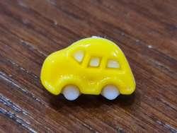 Κουμπιά αυτοκινητάκια 10 - Yellow