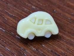 Κουμπιά αυτοκινητάκια 11 - Light Yellow