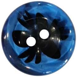 Κουμπιά Flower 3 - Navy Blue