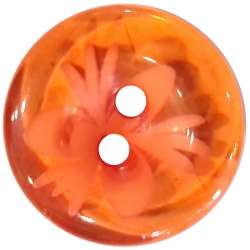 Κουμπιά Flower 5 - Orange