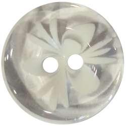 Κουμπιά Flower 8 - White