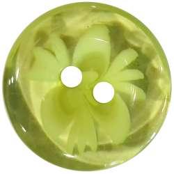 Κουμπιά Flower 14 - Green